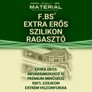 F.BS extra erős szilikon ragasztó